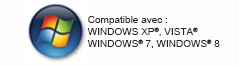 Logiciel compatible windows